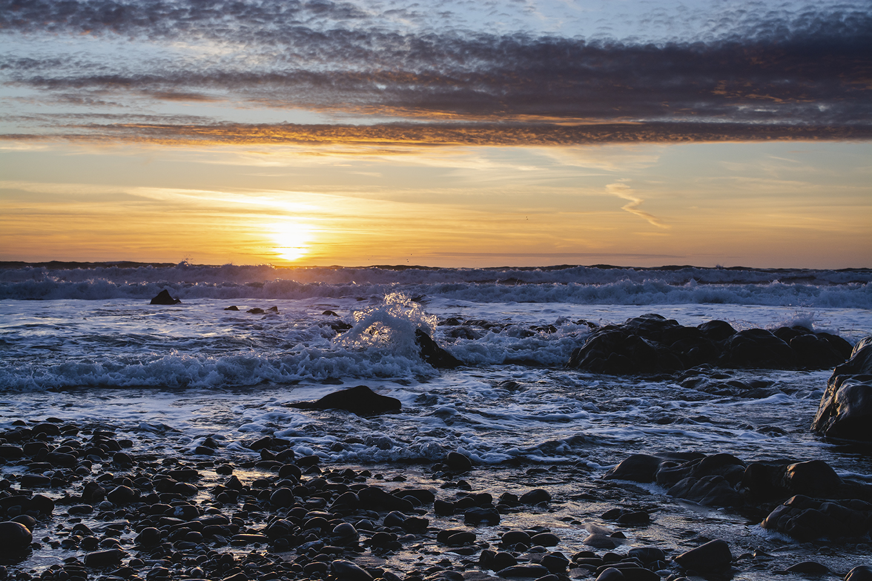 Last of the Sun - Widemouth Bay