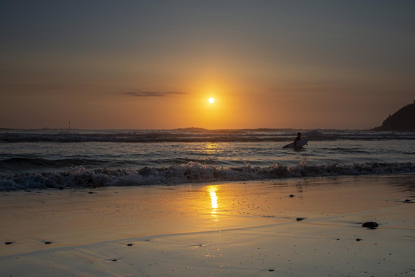 As The Sun Sets - Summerleaze, Bude