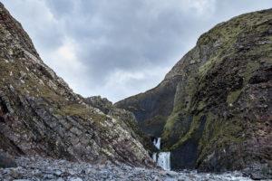 Speke's Mill Mouth Waterfall at Hartland