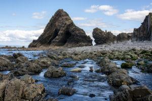 Blackchurch Rock at Mouthmill Beach