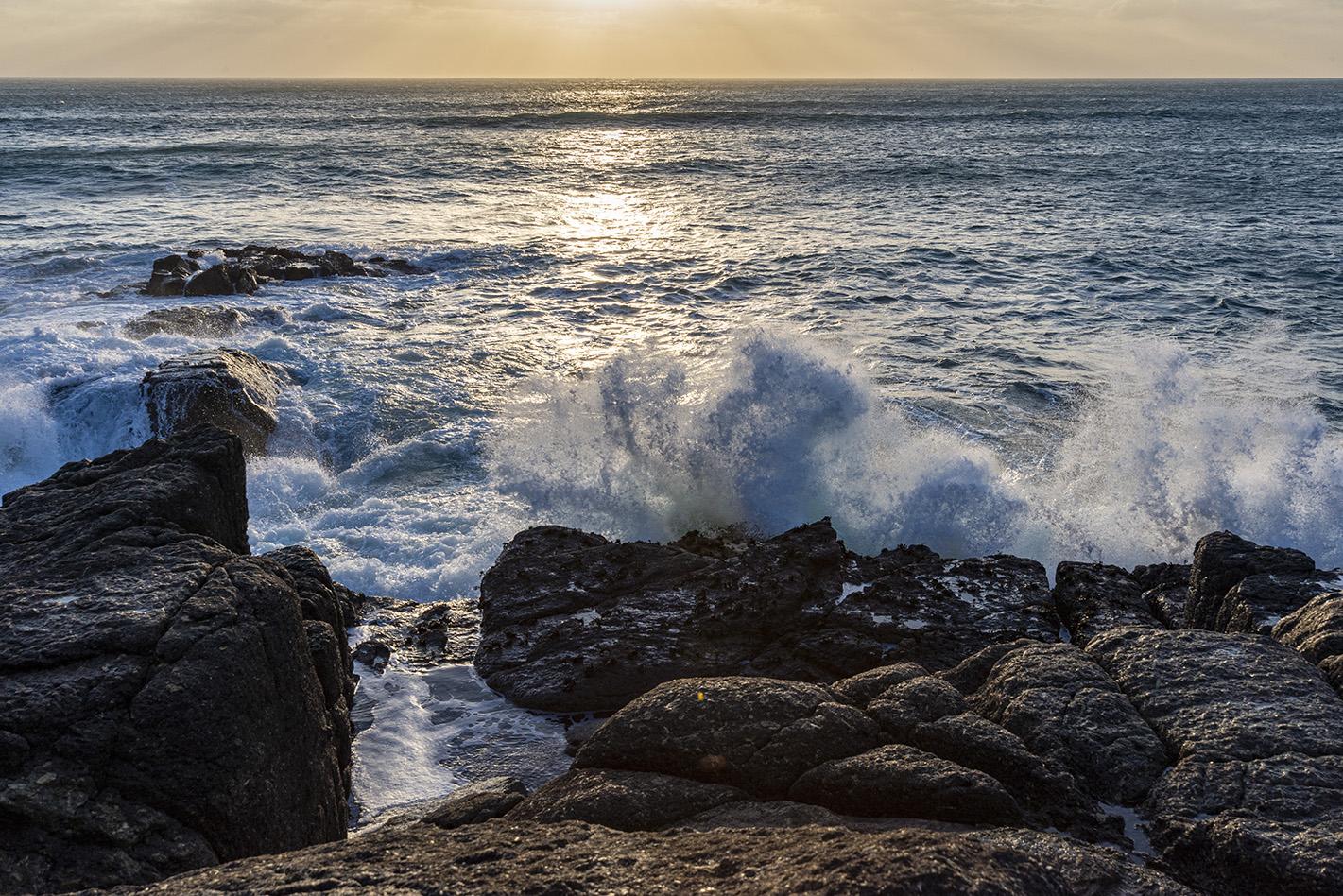 Explosive Ocean - Nanjizal Cove