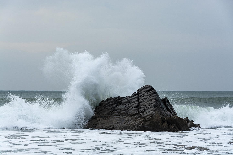 Crashing Wave - Sandymouth