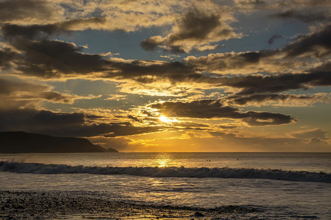 Illuminating Widemouth Bay