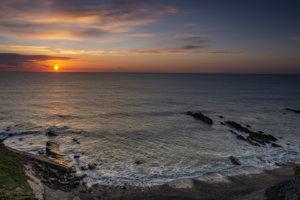 Heavenly Sunset - Bude Coastline