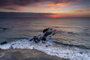 As the Sun Dissolves - Bude Coastline