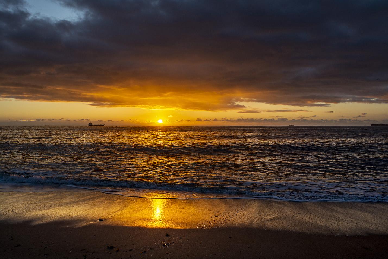 Sunrise at Gyllyngvase Beach - Falmouth