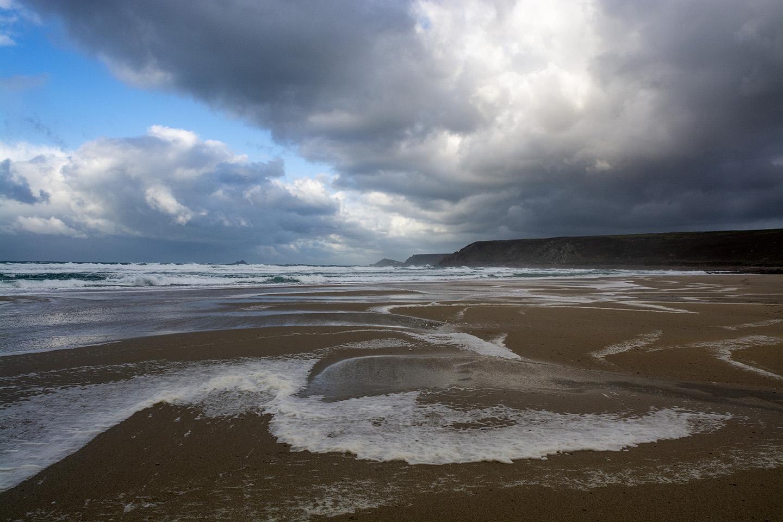 Foamy Waves - Sennen Cove