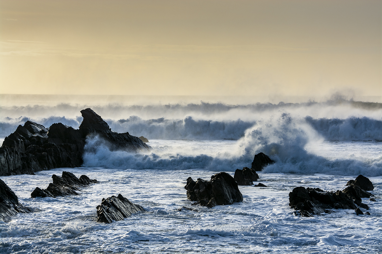 Crashing Surf - Bude Breakwater