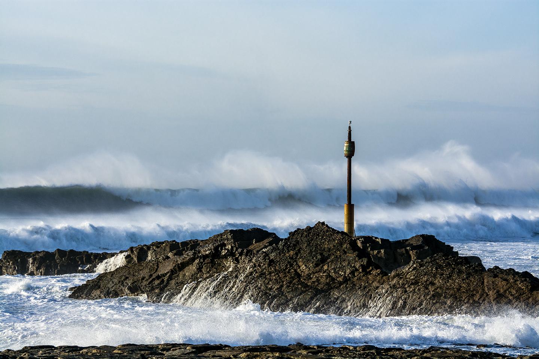 Cascading Waves - Bude Breakwater