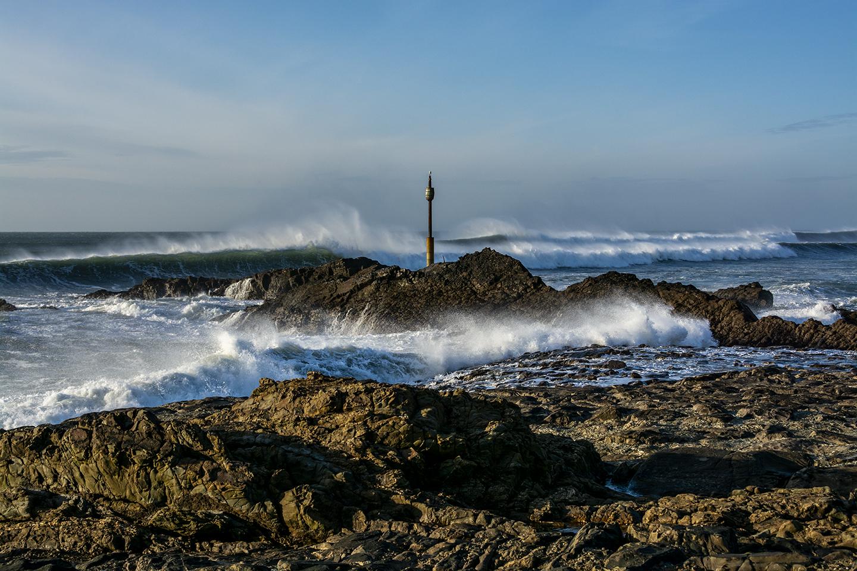 Breaking the Tide - Summerleaze Breakwater, Bude