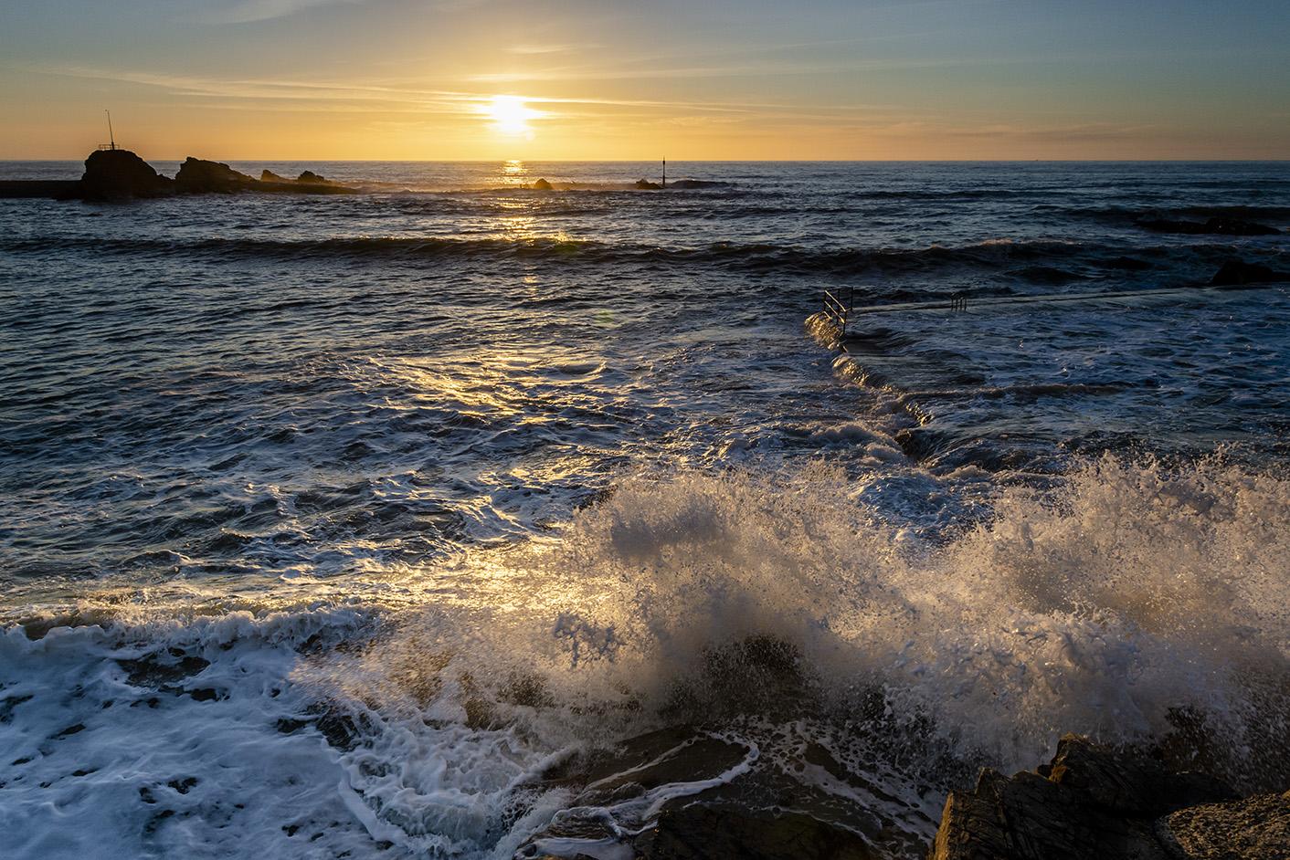 Energetic Wave I - Summerleaze Beach, Bude