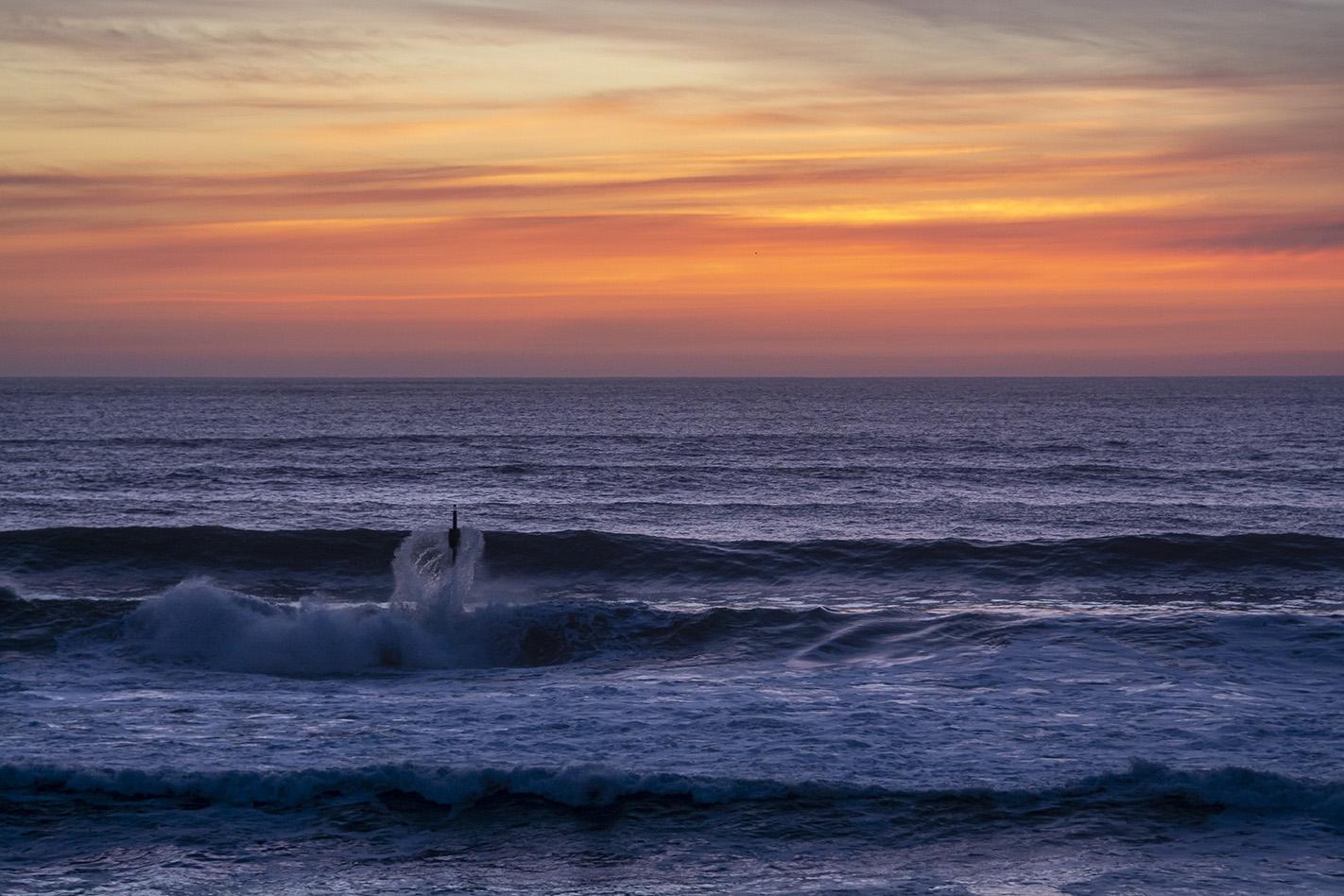 Afterglow - Summerleaze Beach, Bude